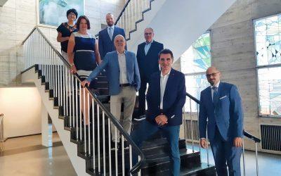 Neubau des Landratsamt Thema bei Kreistags- und Gemeinderatsfraktion